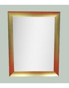 Miroir avec encadrement doré