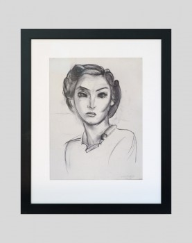 Tête de femme - Sérigraphie Matisse
