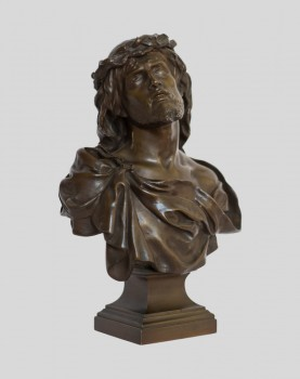 Buste en Bronze du Christ -...