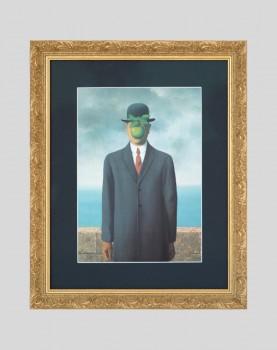 Le Fils de l'homme - Affiche Magritte