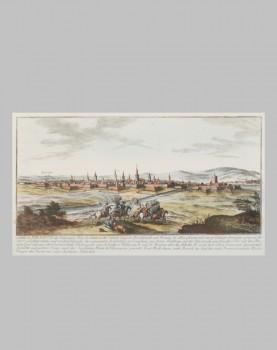 Gravure de Valenciennes XVIIIème