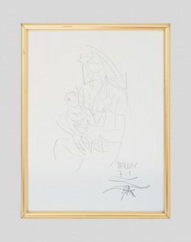 """""""Notre Dame"""" signé - Tieullien"""