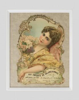 Chromolithographie publicitaire Aux Enfants de Valenciennes
