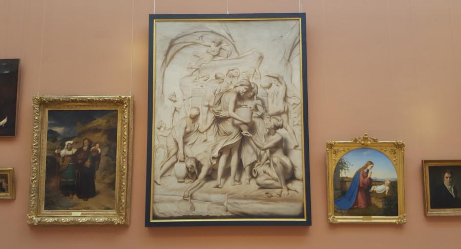 encadrement tableau musée Valenciennes